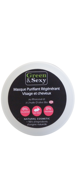 masque purifiant green-and-sexy